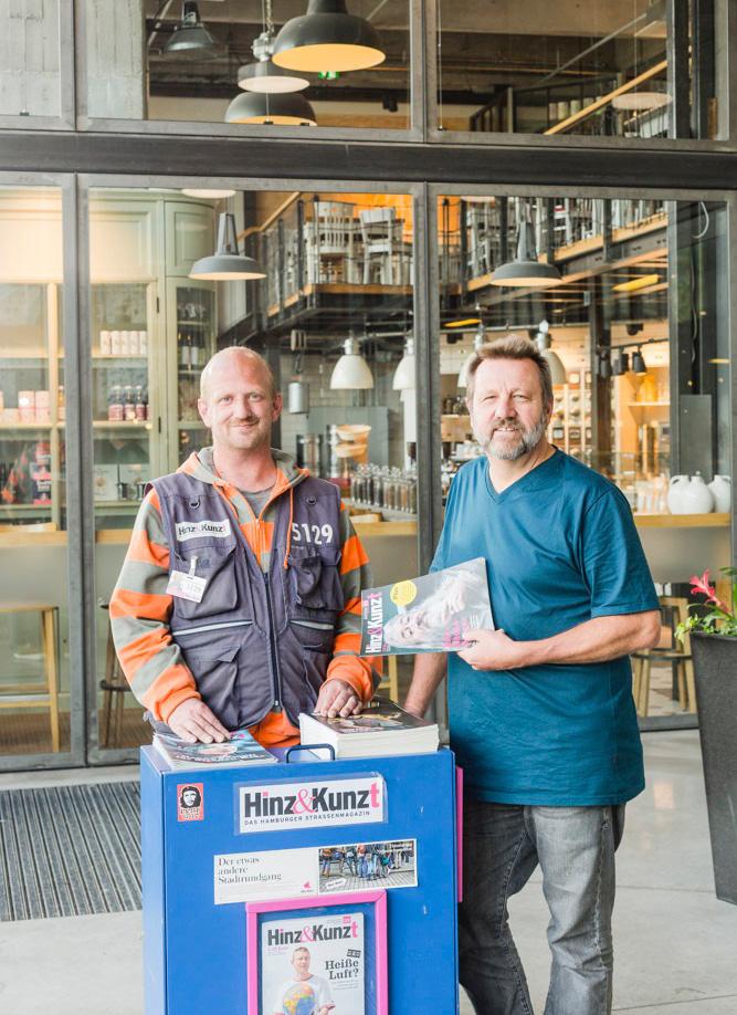 Hinz und Kunzt - Das Hamburger Straßenmagazin