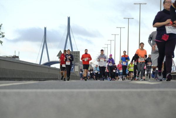 Impressionen vom Köhlbrandbrückenlauf 2019