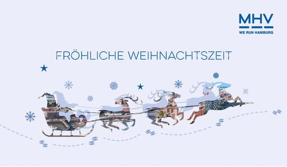 Fröhliche Festtage und einen guten Jahreswechsel!